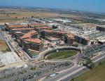 Vista aerea de 'Le Piazze' di Parco Leonardo
